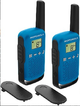 MOTOROLA T42 BLUE TALKABOUT
