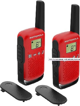 MOTOROLA T42 RED TALKABOUT