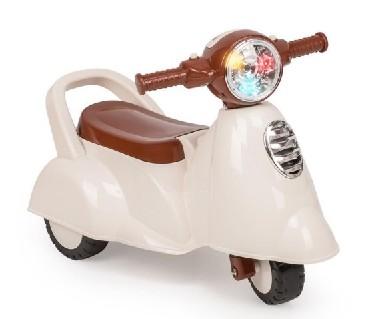 "HAPPY BABY 50014 Мотоцикл-каталка ""MOPPY"" (beige)"