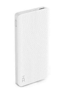 XIAOMI ZMI POWER BANK 10000 MAH Белый
